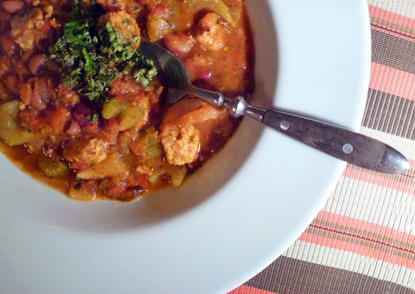 Andalusian Bean Stew