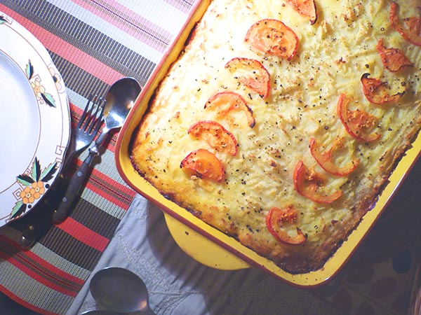 Carroty Cottage Pie